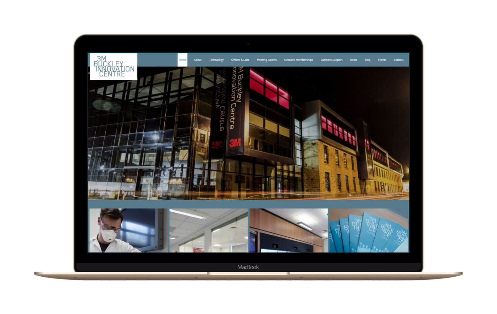 Website Design for 3MBIC