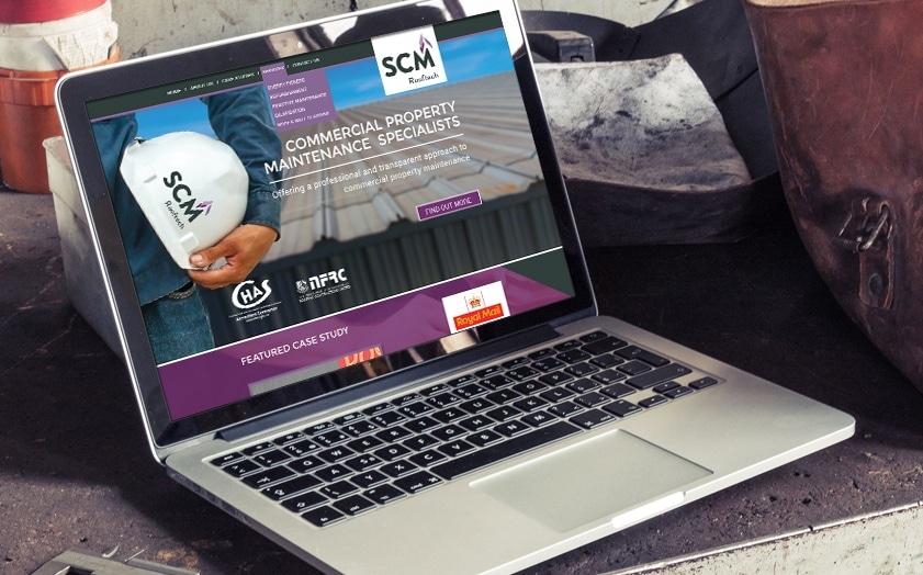 Website Design for SCM Rooftech