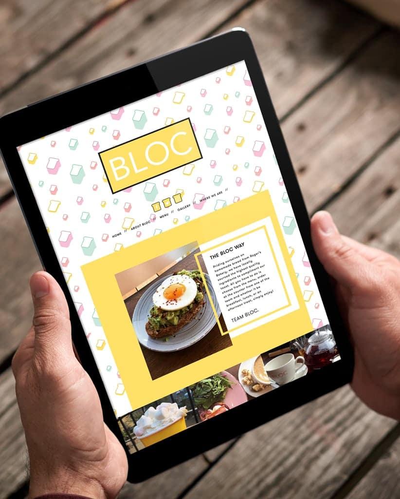 Website Design for Bloc