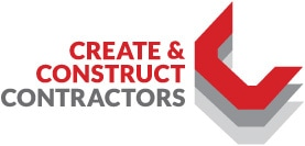 Create Construct Contractors Logo