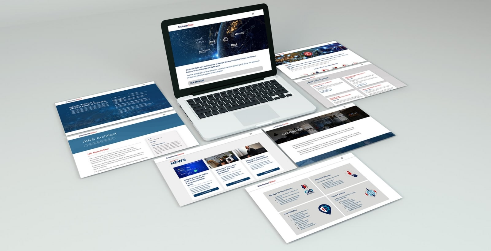 Website Design for Solutionize Global