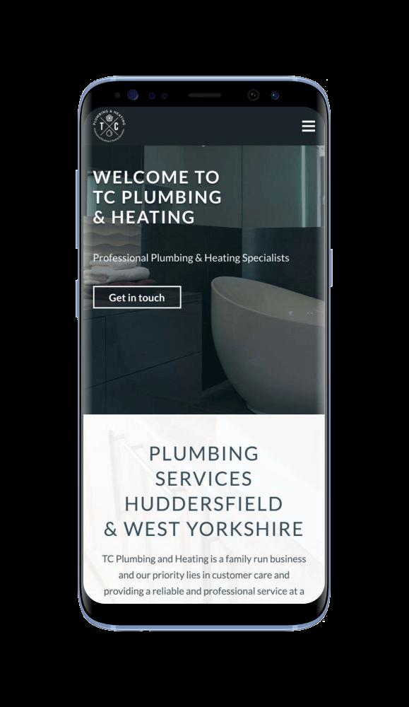 WordPress Design for TC Plumbing & Heating