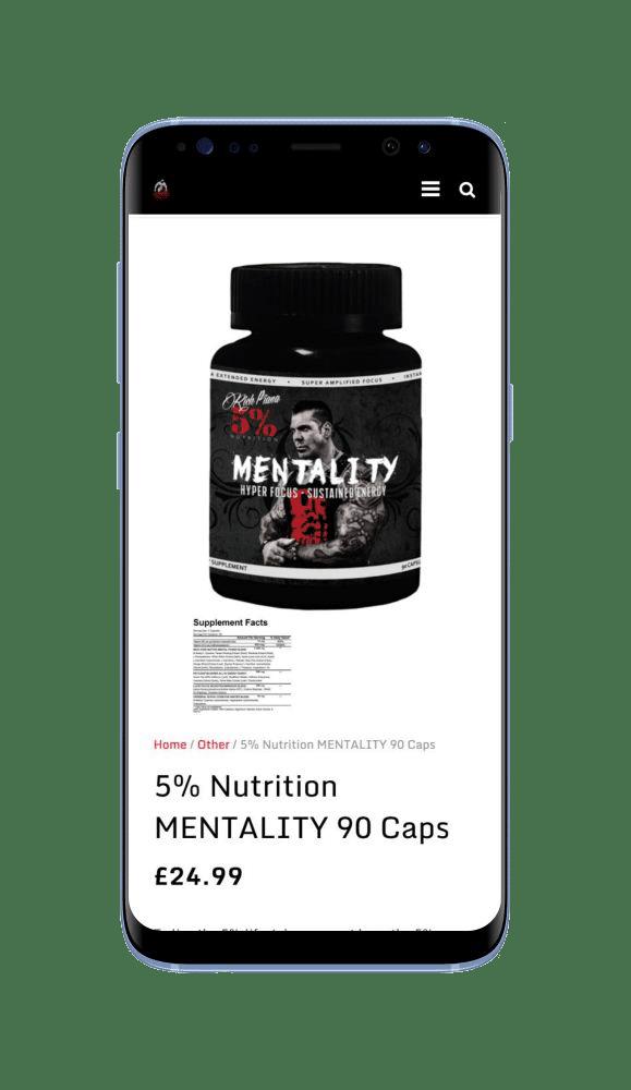 Bespoke WordPress Website for Infinity Nutrition