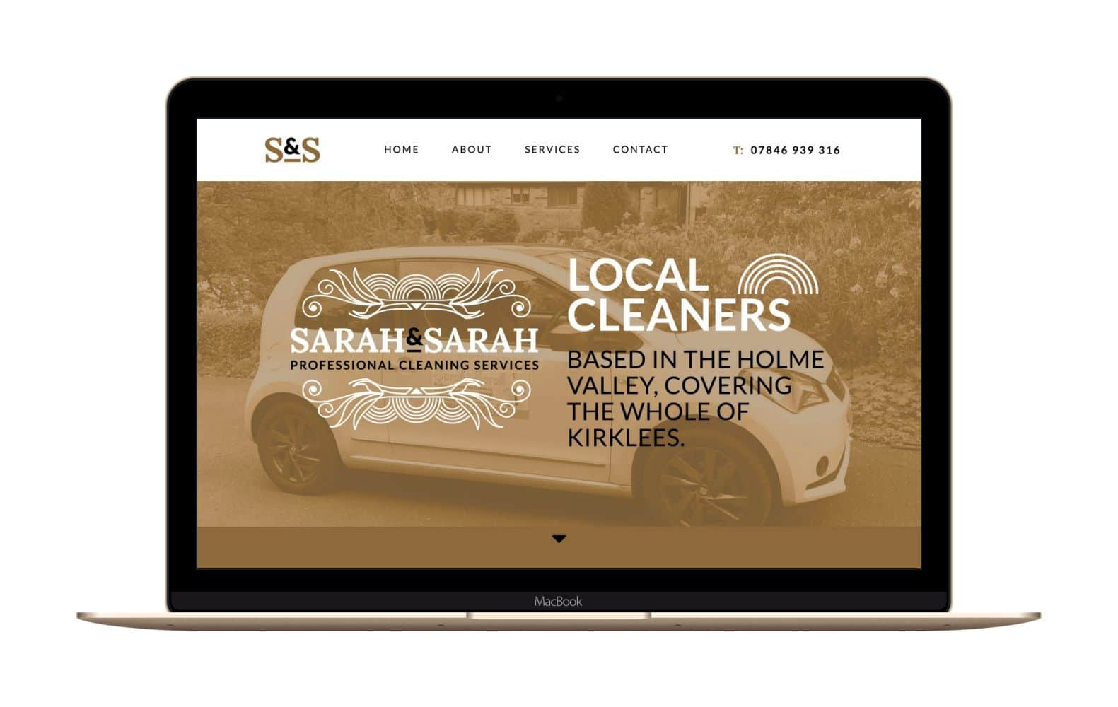 Website Design for Cleaning Services Huddersfield
