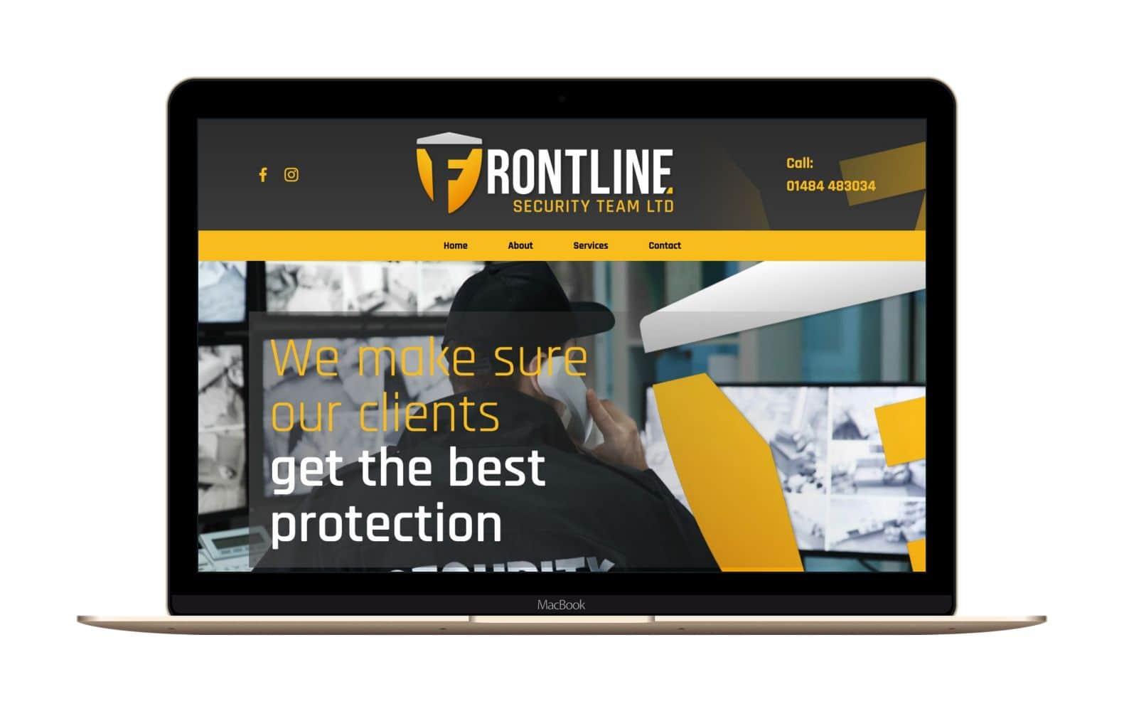 Website Design for Frontline Security