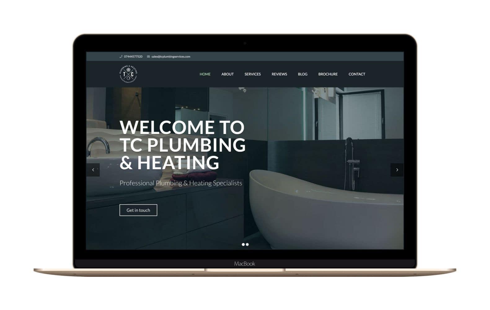 Website Design for TC Plumbing & Heating