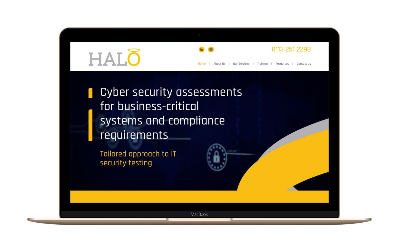 Website Design for Halo IT & Security
