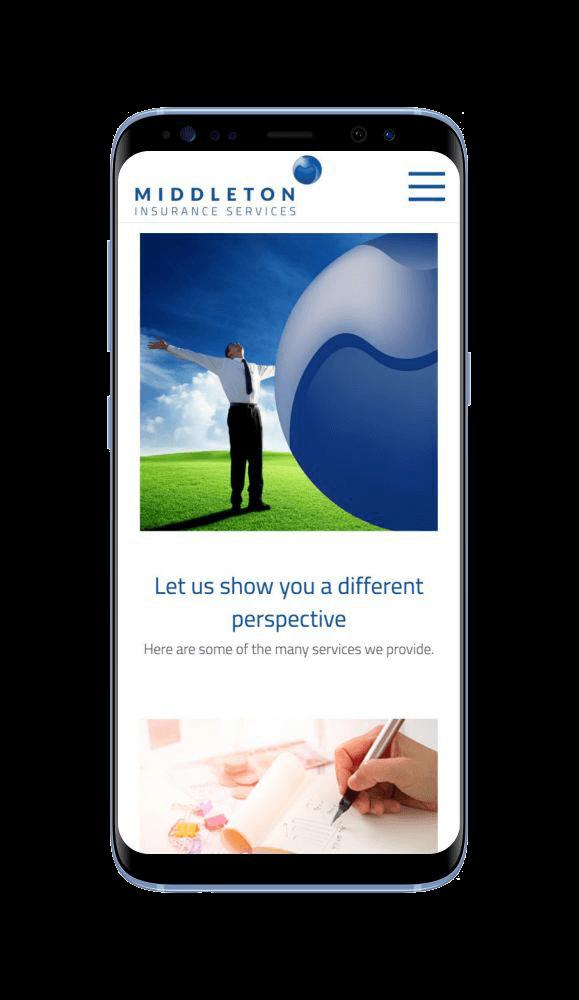 WordPress Developement for Middleton Insurance Services