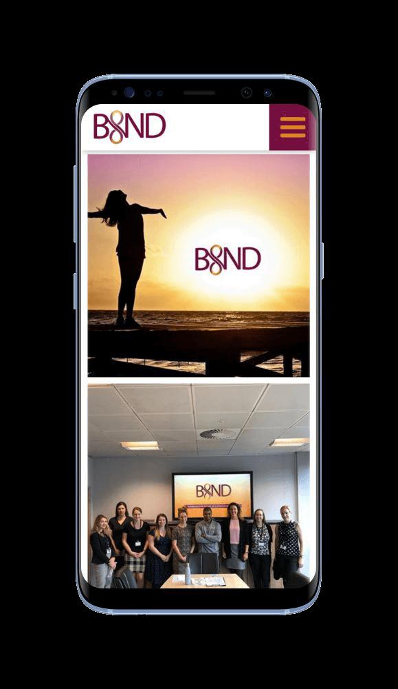 Bespoke WordPress Website for Bind