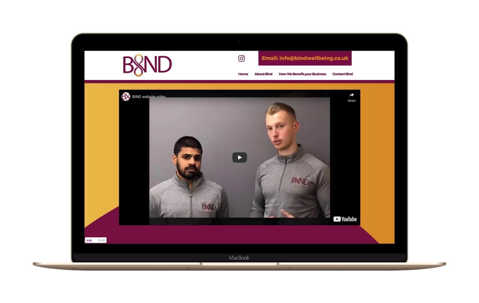 Website Design for Bind