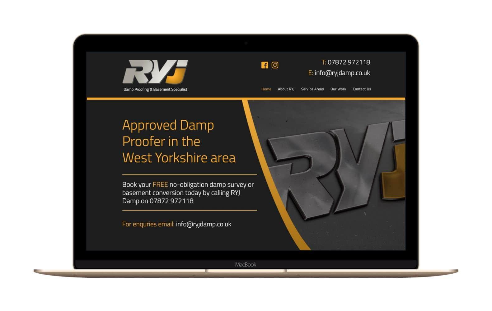 Website Design for RYJ