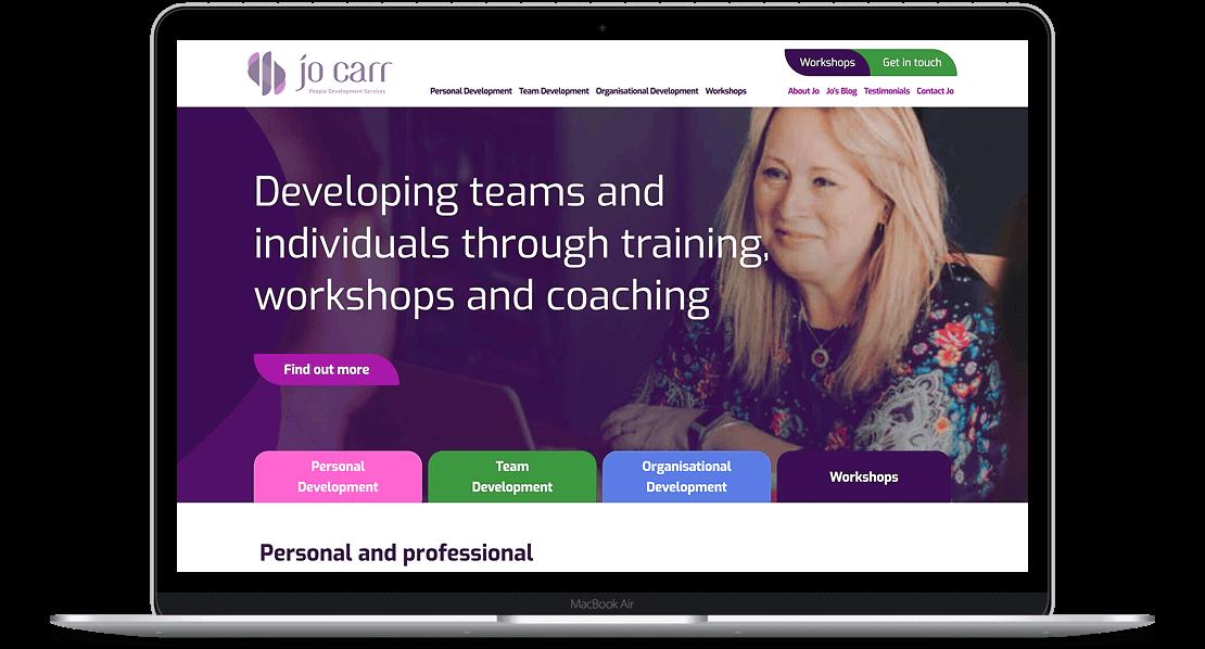 Website Design for Jo Carr
