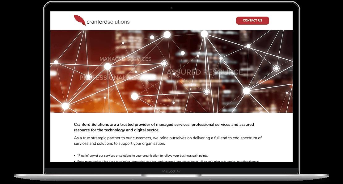 Website Design for Cranford Solutions