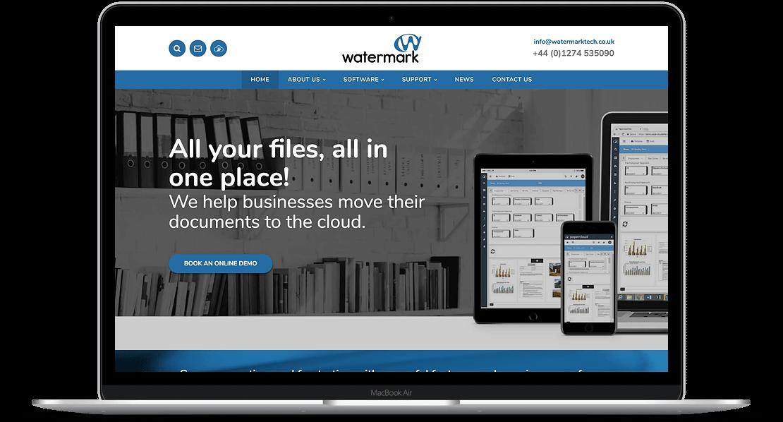 Website Design for Watermark Tech