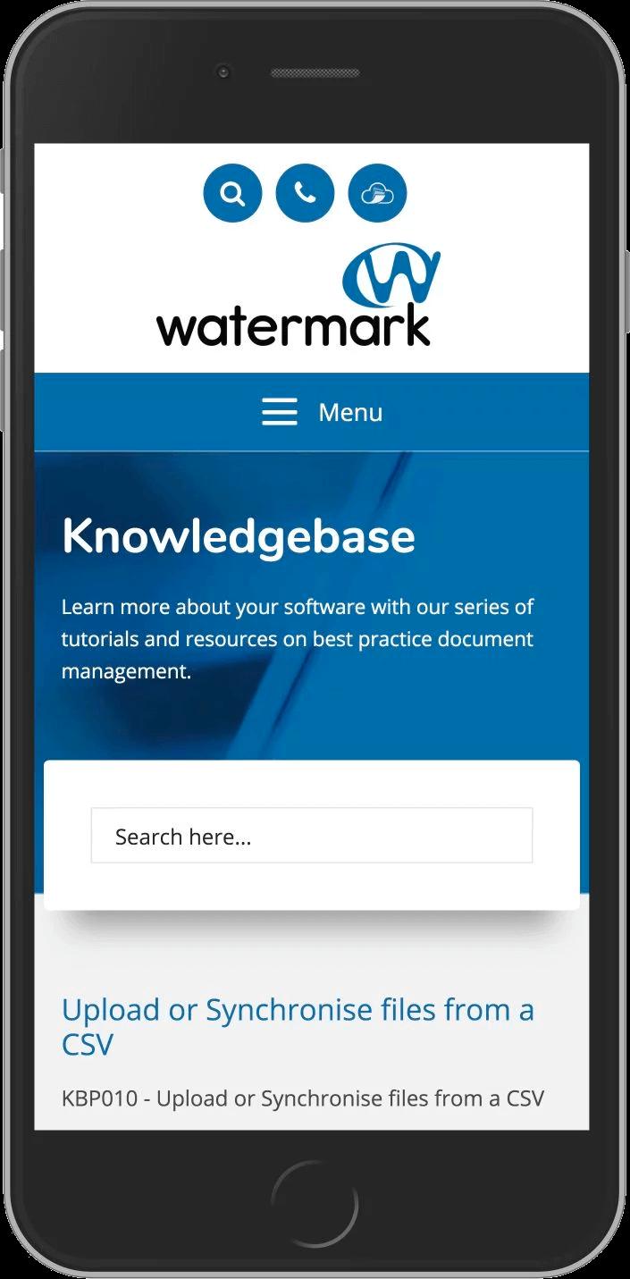Bespoke WordPress Website for Watermark Tech