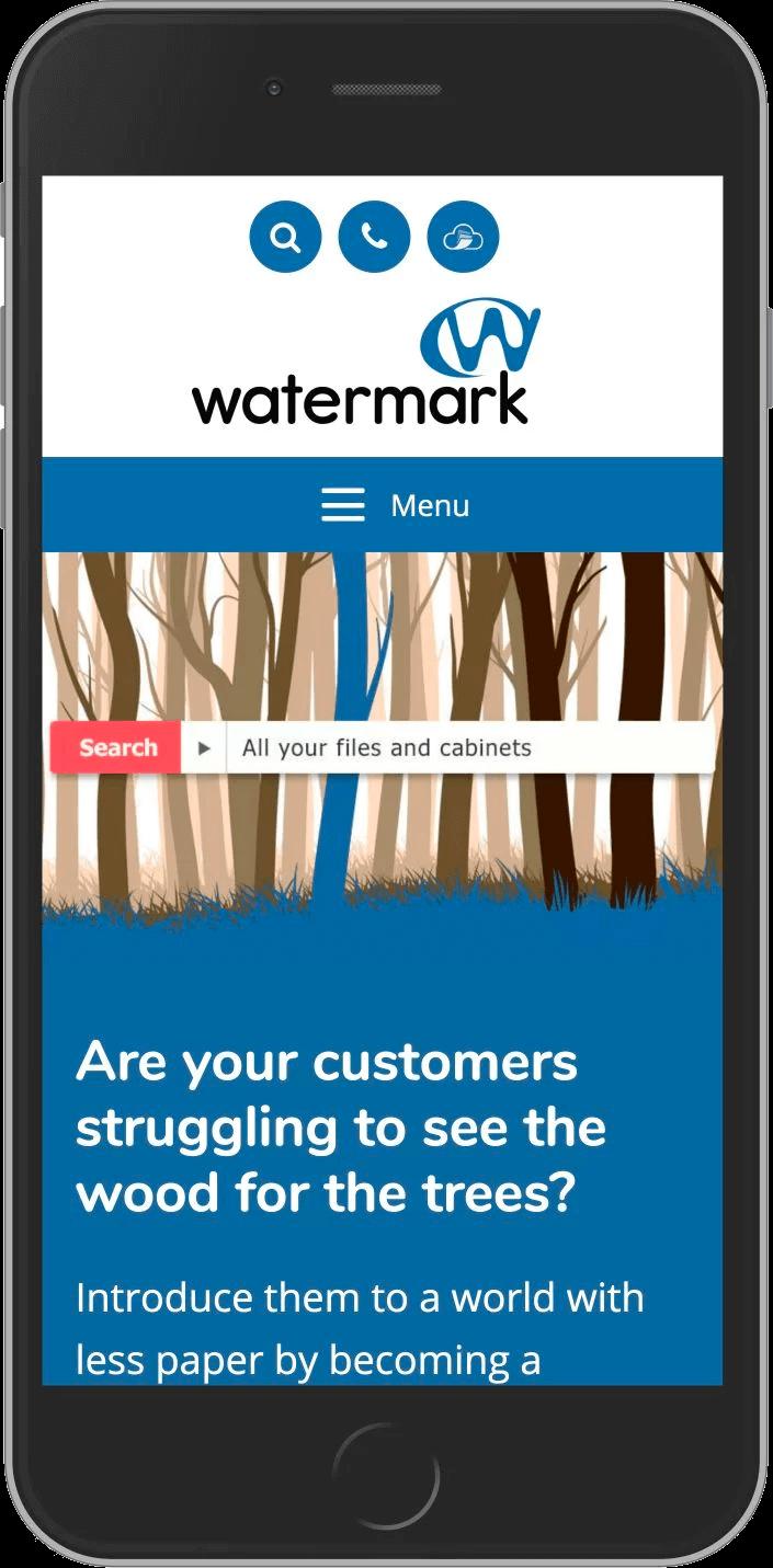 WordPress Developement for Watermark Tech