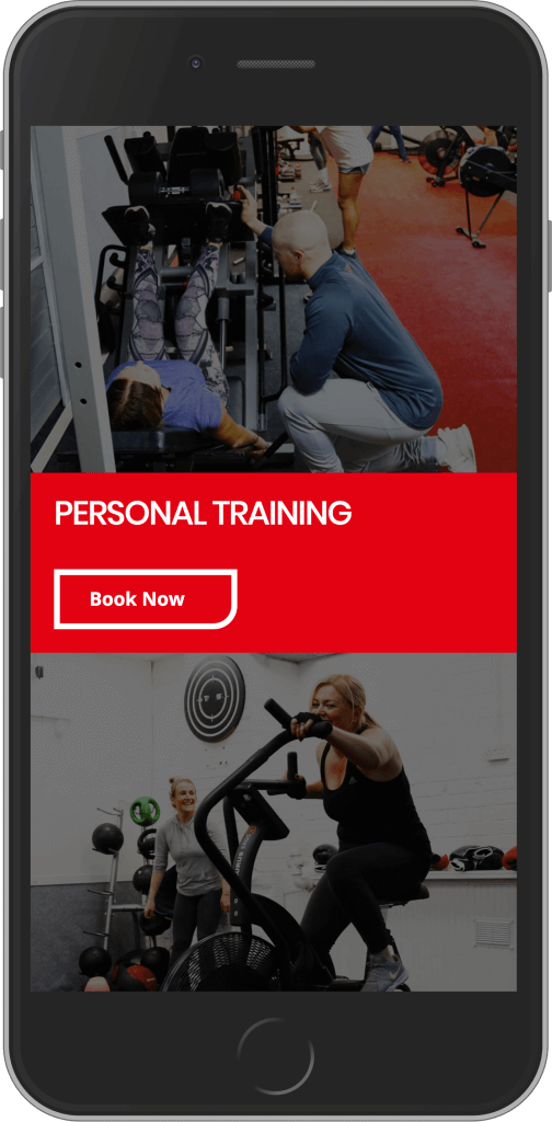 WordPress Developement for Connor Hall Fitness