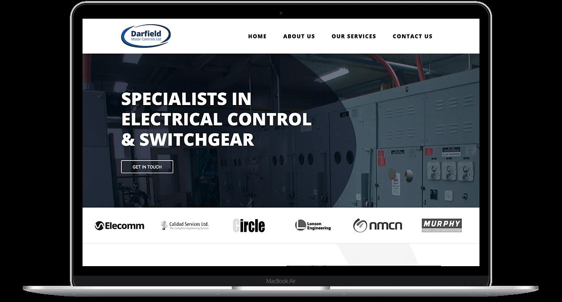 Website Design for Darfield Motor Controls