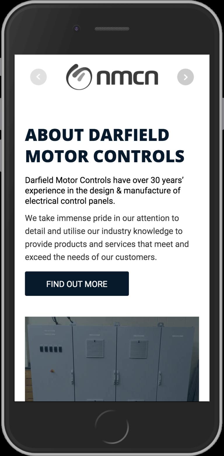 WordPress Developement for Darfield Motor Controls