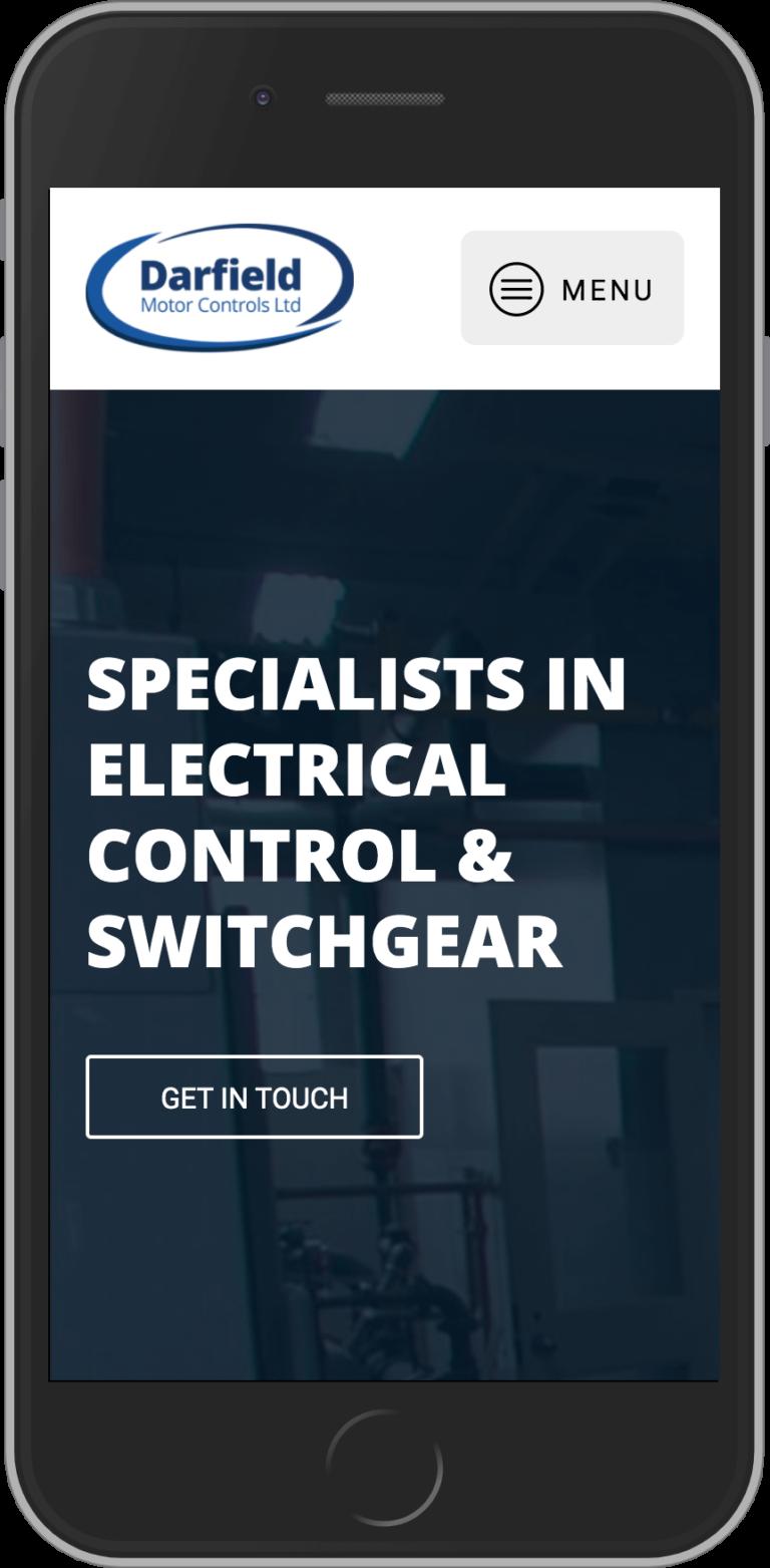 WordPress Design for Darfield Motor Controls