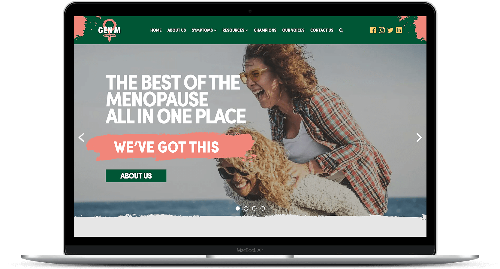 Website Design for Gen M