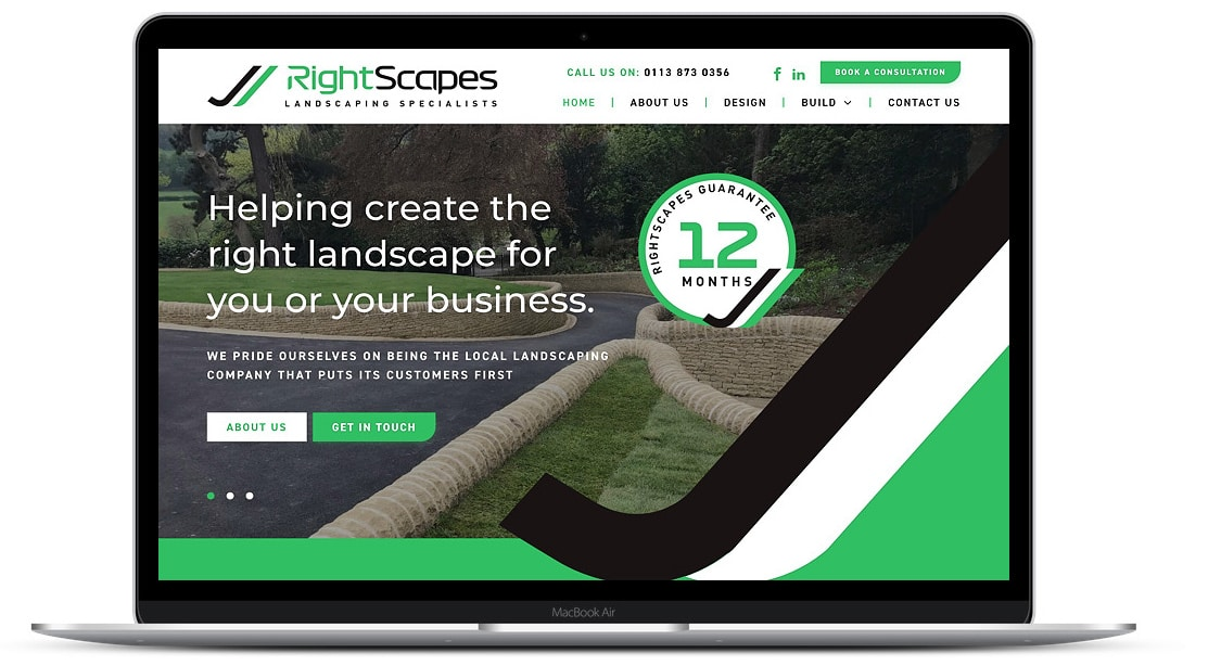 Website Design for RightScapes
