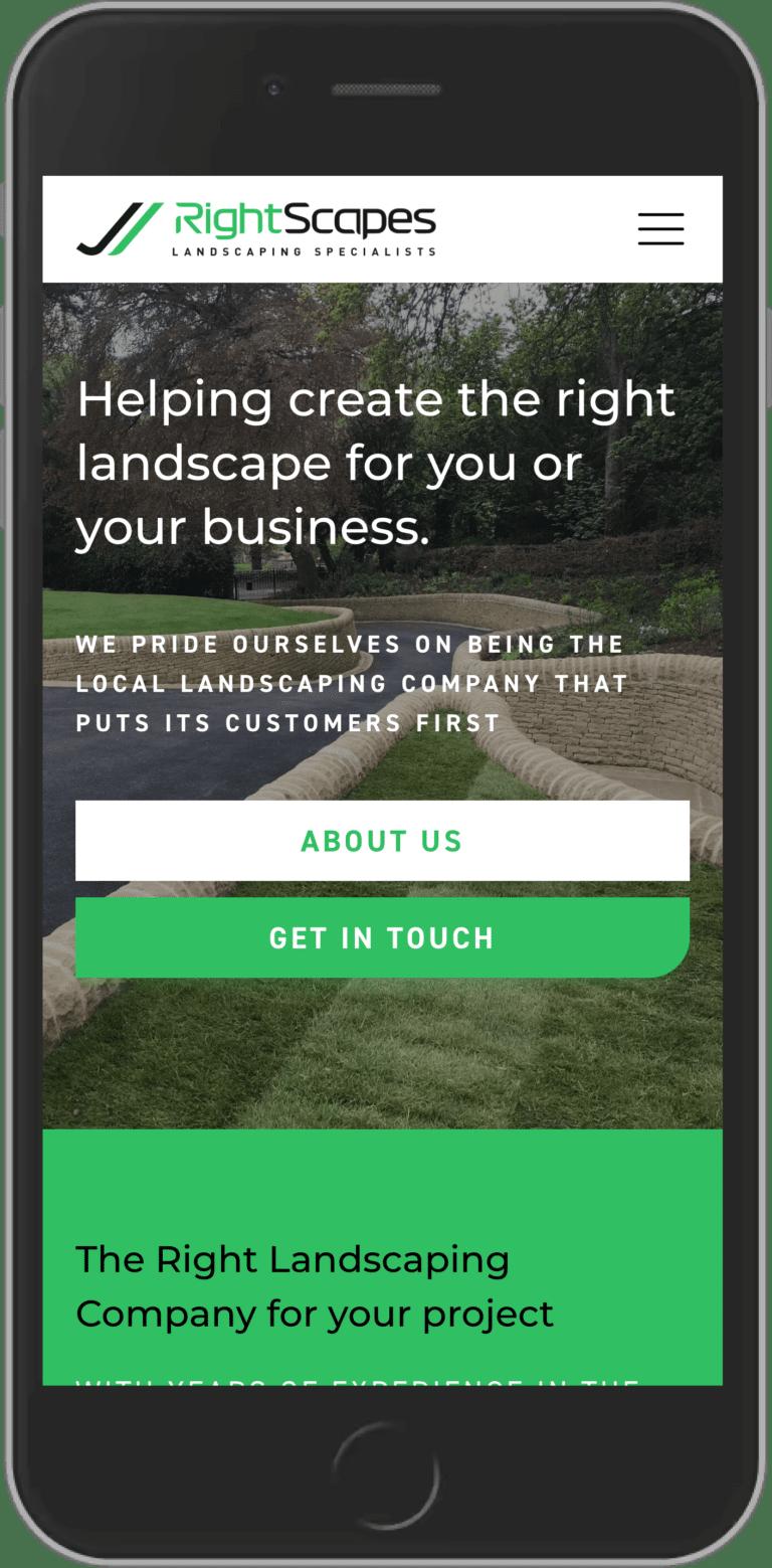 WordPress Design for RightScapes